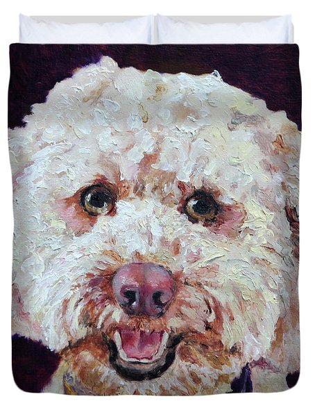 The Labradoodle Duvet Cover by Enzie Shahmiri