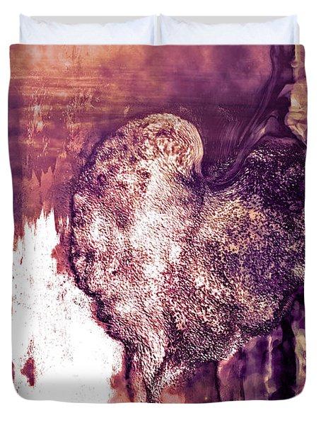 The Light Within Duvet Cover by Linda Sannuti