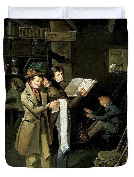 The Long Bill Duvet Cover by James Henry Beard