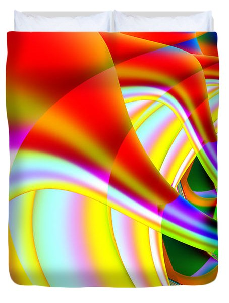The Marching Band . S14 Duvet Cover by Wingsdomain Art and Photography
