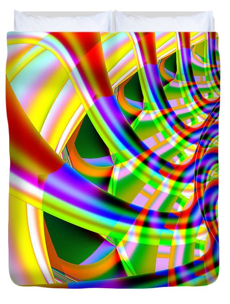 The Marching Band . Vertical . S14 Duvet Cover by Wingsdomain Art and Photography