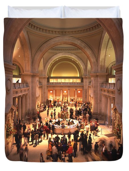 The Metropolitan Museum Of Art Duvet Cover by Mike McGlothlen