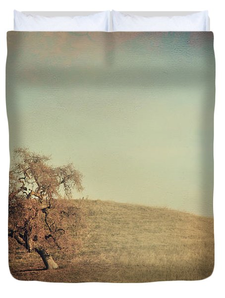 The Neverending Loneliness Duvet Cover by Laurie Search