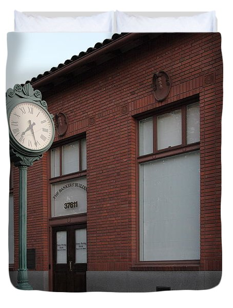 The Old Banker's Building - 5d18429 Duvet Cover by Wingsdomain Art and Photography