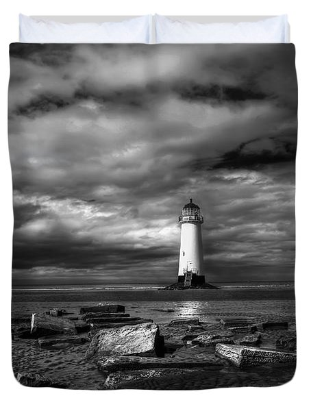 The Old Lighthouse  Duvet Cover by Adrian Evans