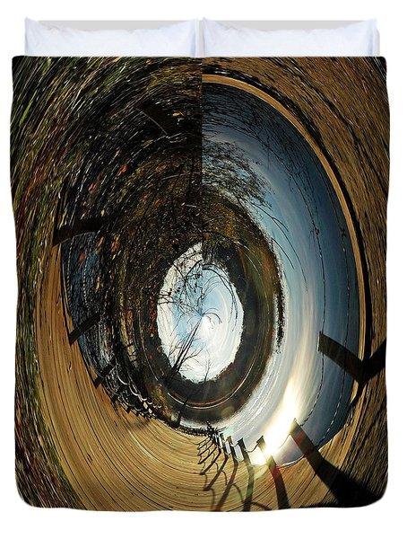 The Other Side Duvet Cover by LeeAnn McLaneGoetz McLaneGoetzStudioLLCcom