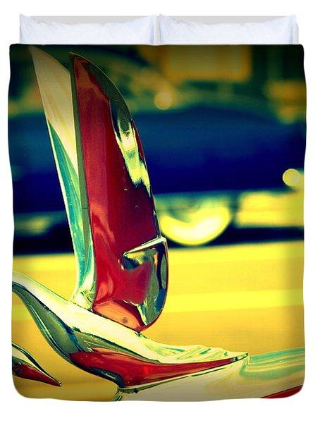 The Packard Swan Duvet Cover by Susanne Van Hulst
