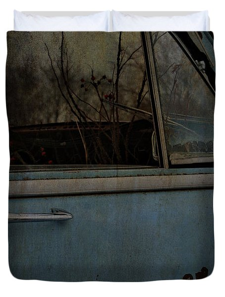 The Passenger  Duvet Cover by Jerry Cordeiro
