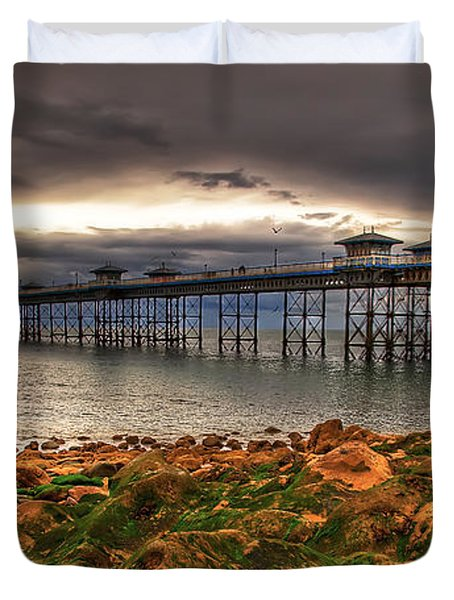 The Pier Duvet Cover by Adrian Evans