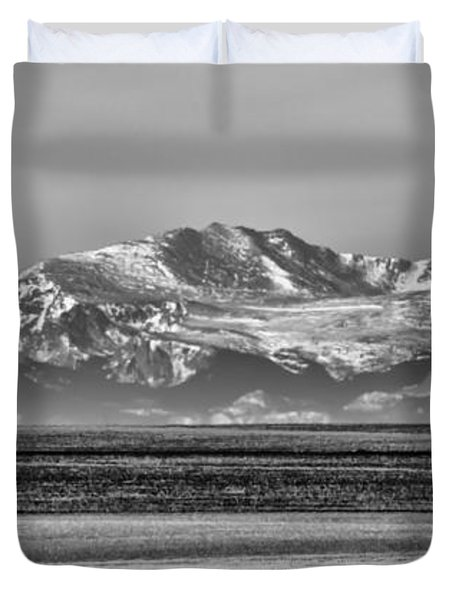 The Rockies Duvet Cover by Heather Applegate