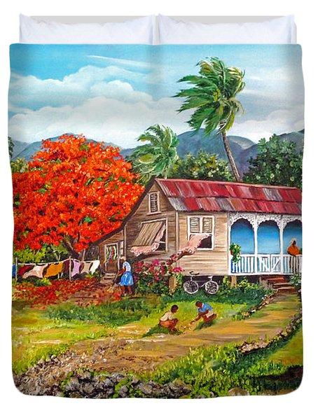 THE SWEET LIFE Duvet Cover by KARIN KELSHALL- BEST