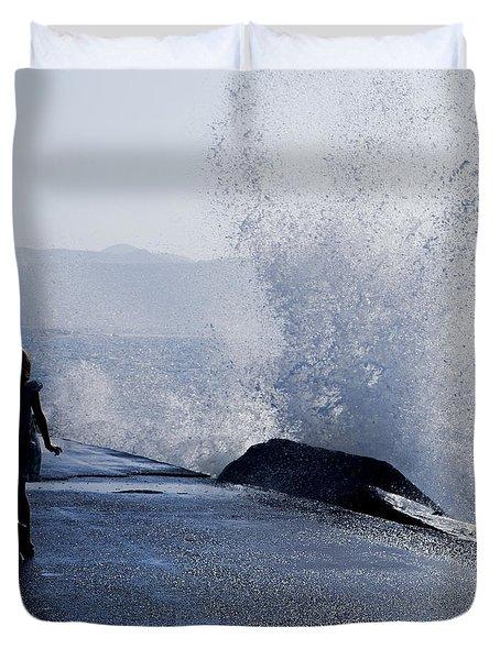 The Wave Duvet Cover by Joana Kruse
