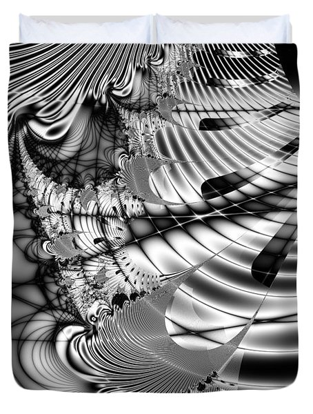 The Web We Weave Duvet Cover by Wingsdomain Art and Photography