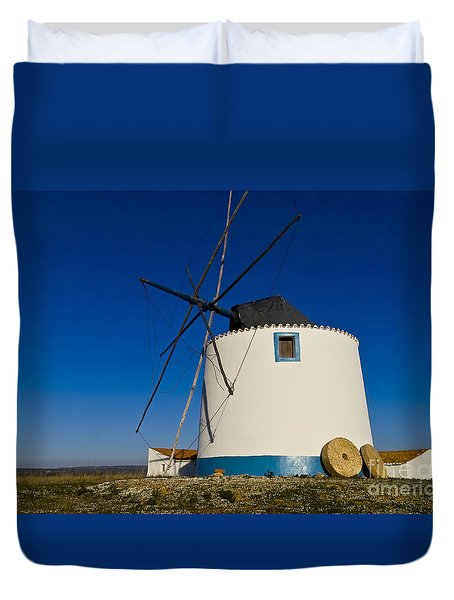 The Windmill Duvet Cover by Heiko Koehrer-Wagner