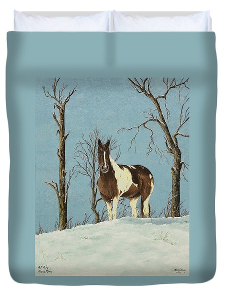 There Is A Season Duvet Cover by Mary Ann King