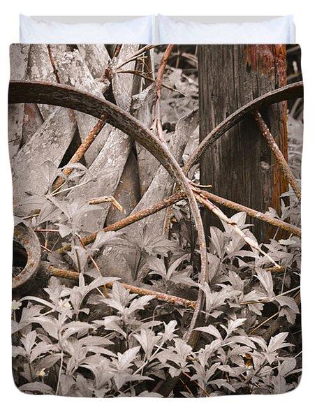 Time Forgotten Duvet Cover by Carolyn Marshall