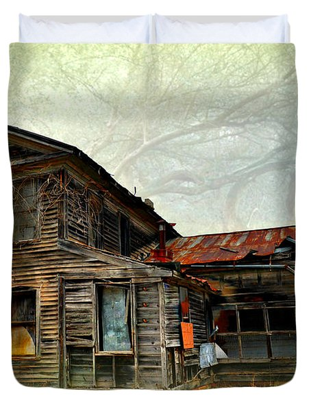 Times Long Gone Duvet Cover by Marty Koch