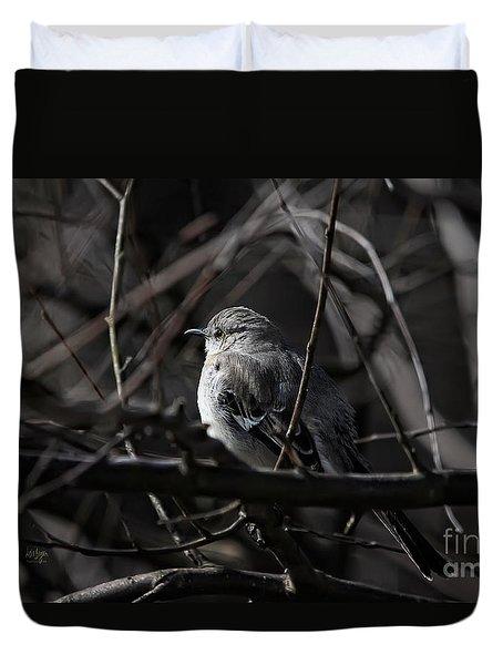 To Kill A Mockingbird Duvet Cover by Lois Bryan