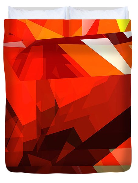 Tower Series 14l Duvet Cover by Russell Kightley