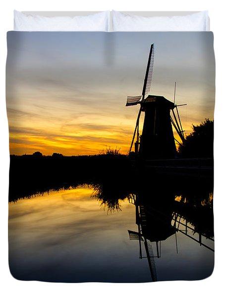 Traditional Dutch Duvet Cover by Chad Dutson