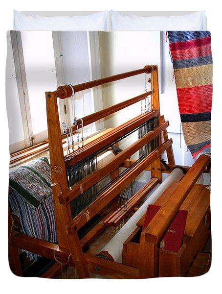 Traditional Weavers Loom Duvet Cover by LeeAnn McLaneGoetz McLaneGoetzStudioLLCcom