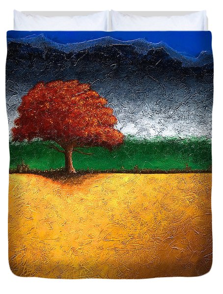 Tree Of Life Duvet Cover by Mauro Celotti