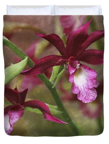 Tropical Beauty Duvet Cover by Debra and Dave Vanderlaan