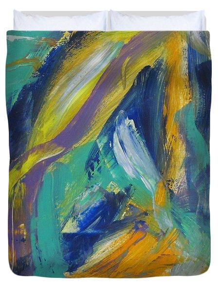 Tropicana 2 Duvet Cover by Anita Burgermeister