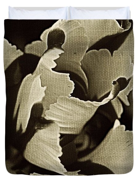 Tulip Whirled Duvet Cover by Chris Berry