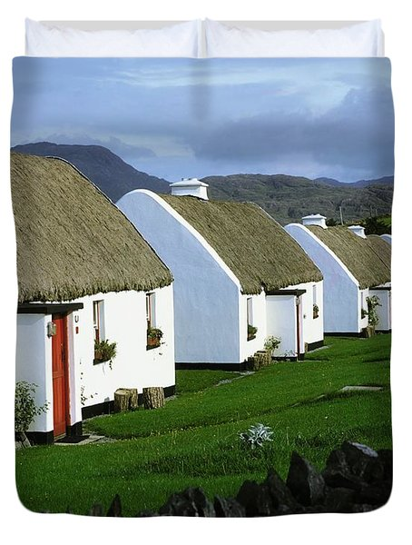 Tullycross, Co Galway, Ireland Holiday Duvet Cover by The Irish Image Collection