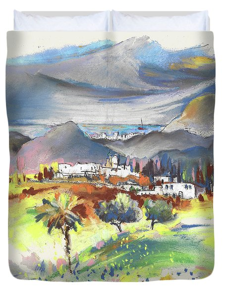 Turre In Spain 03 Duvet Cover by Miki De Goodaboom