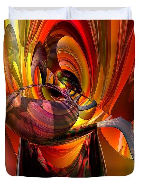 Twisted Jester Fx  Duvet Cover by G Adam Orosco