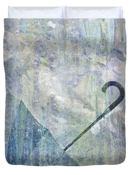 Umbrella Duvet Cover by Brett Pfister