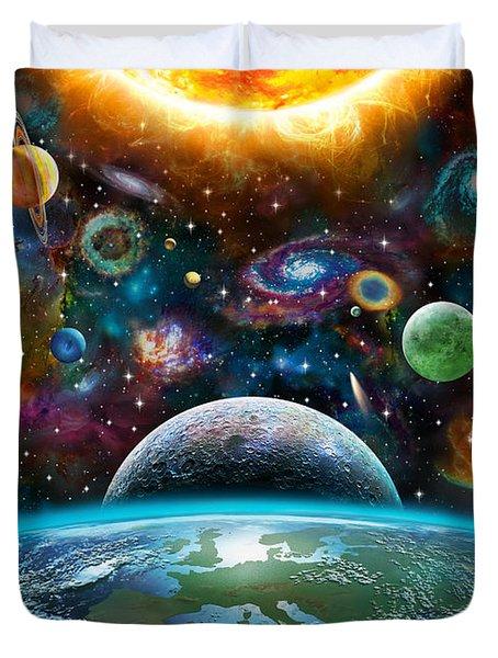 Universal Light Duvet Cover by Adrian Chesterman