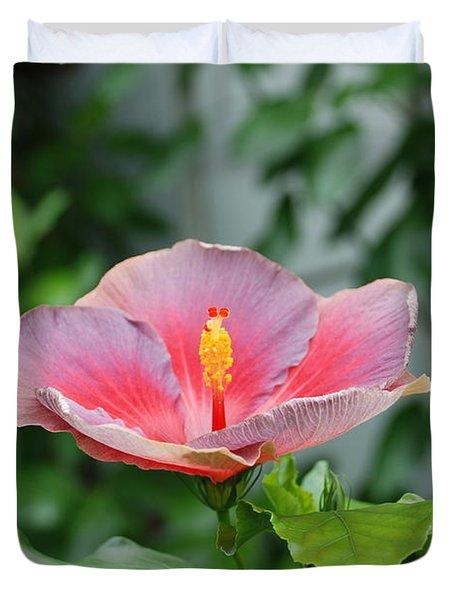 Unusual Flower Duvet Cover by Jennifer Lyon