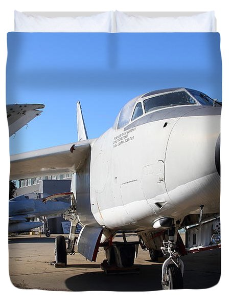 US Fighter Jet Plane . 7D11223 Duvet Cover by Wingsdomain Art and Photography