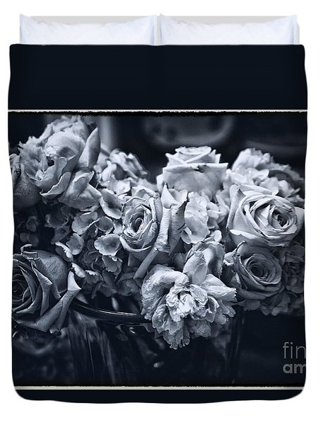 Vase Of Flowers 2 Duvet Cover by Madeline Ellis