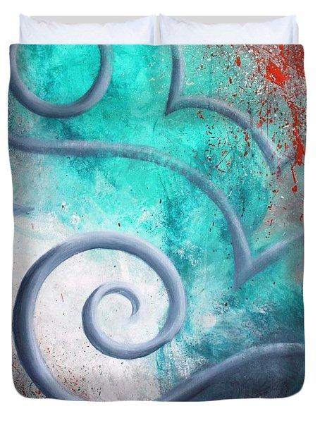 Venus Sky Duvet Cover by Reina Cottier