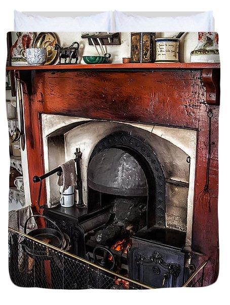 Victorian Range Duvet Cover by Adrian Evans