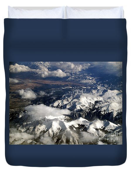 View From Above II Duvet Cover by Patricia Griffin Brett