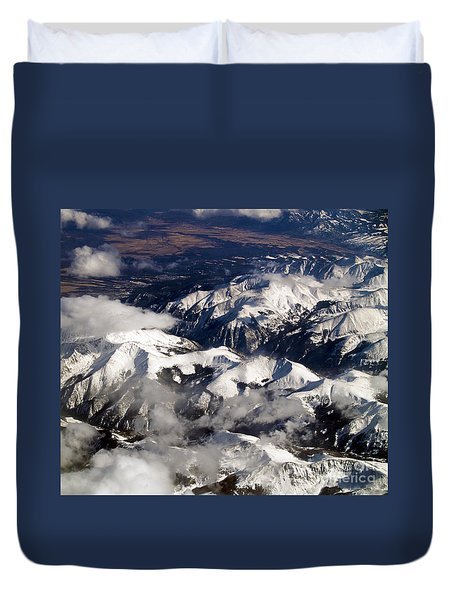 View From Above Iv Duvet Cover by Patricia Griffin Brett