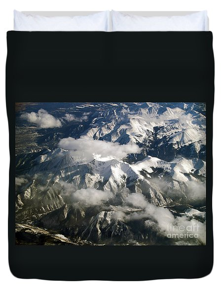 View From Above Duvet Cover by Patricia Griffin Brett