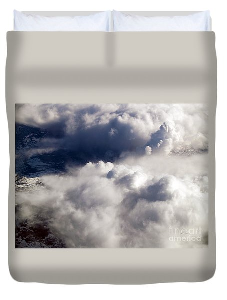 View From Above V Duvet Cover by Patricia Griffin Brett