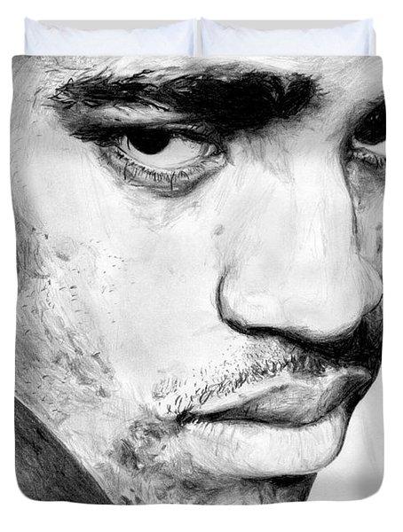 Vince Carter Duvet Cover by Tamir Barkan