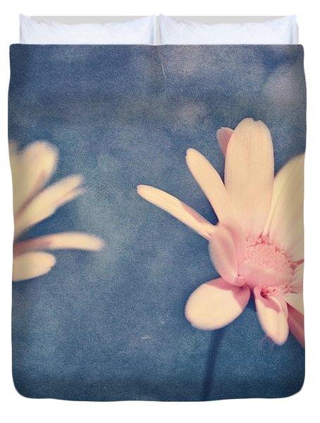 Voyager De Par Les Aromes Des Fleurs Duvet Cover by Aimelle
