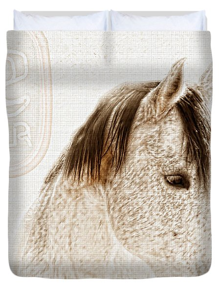 Waiting For A Beer Duvet Cover by Betty LaRue