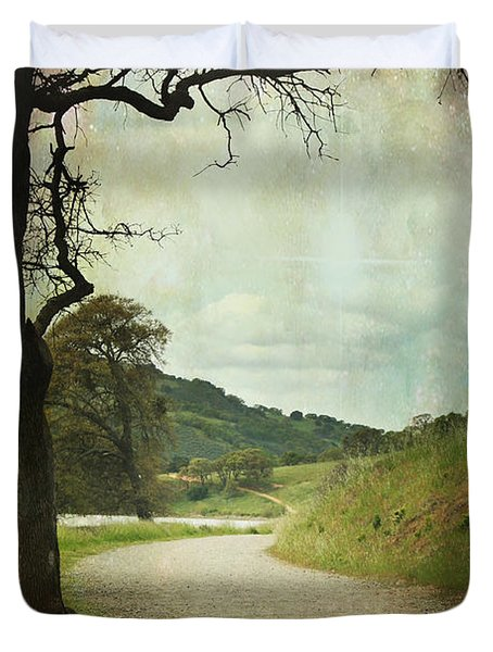 Walk Of Life Duvet Cover by Laurie Search