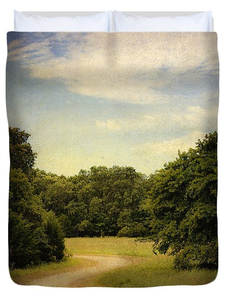 Wandering Path II Duvet Cover by Tamyra Ayles