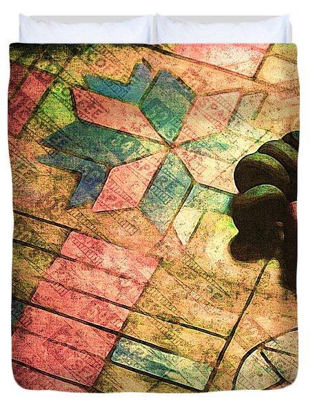 War Games Duvet Cover by Judi Bagwell