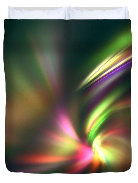 Warp Speed Duvet Cover by Kim Sy Ok